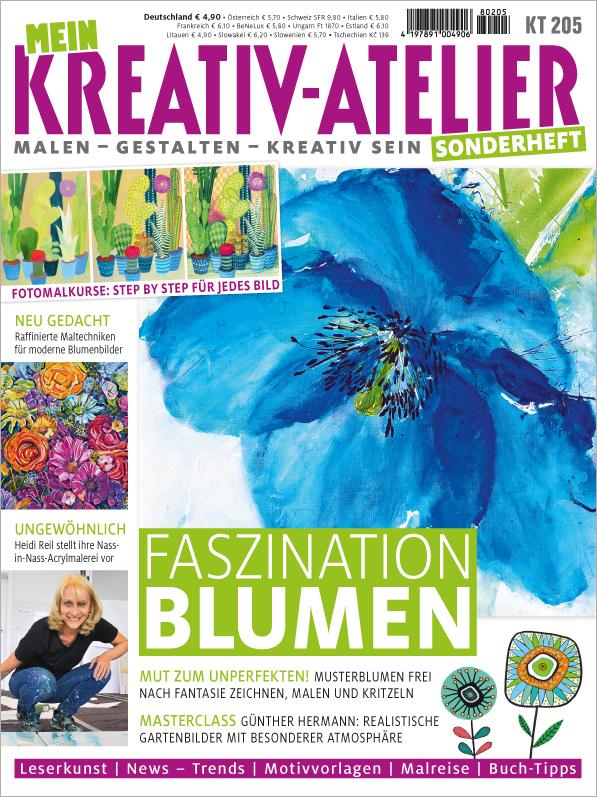 Mein Kreativatelier Sonderheft - Faszination Blumen