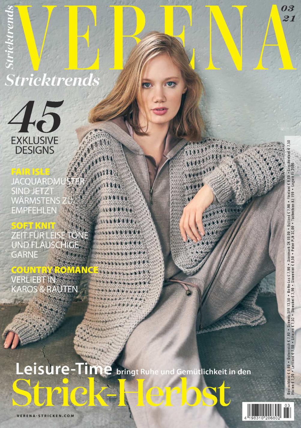 Verena Stricktrends 03/2021 - Strick-Herbst