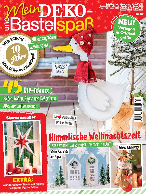 Mein Deko- und Bastelspaß Nr. 40/2020 - Himmlische Weihnachtszeit