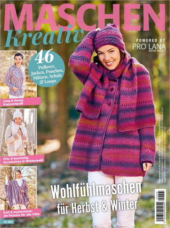 E-Paper: Maschen kreativ - Wohlfühlmaschen für Herbst & Winter