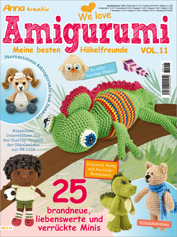 Anna kreativ Sonderheft - Amigurumi Vol. 11