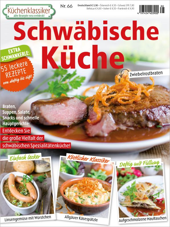 Küchenklassiker Nr. 66/2018 - Schwäbische Küche