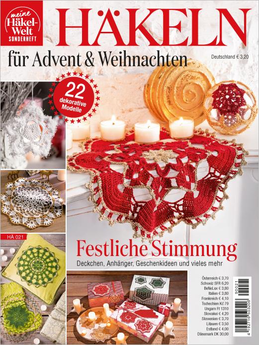 Meine Häkelwelt HÄ 021- Häkeln für Advent & Weihnachten