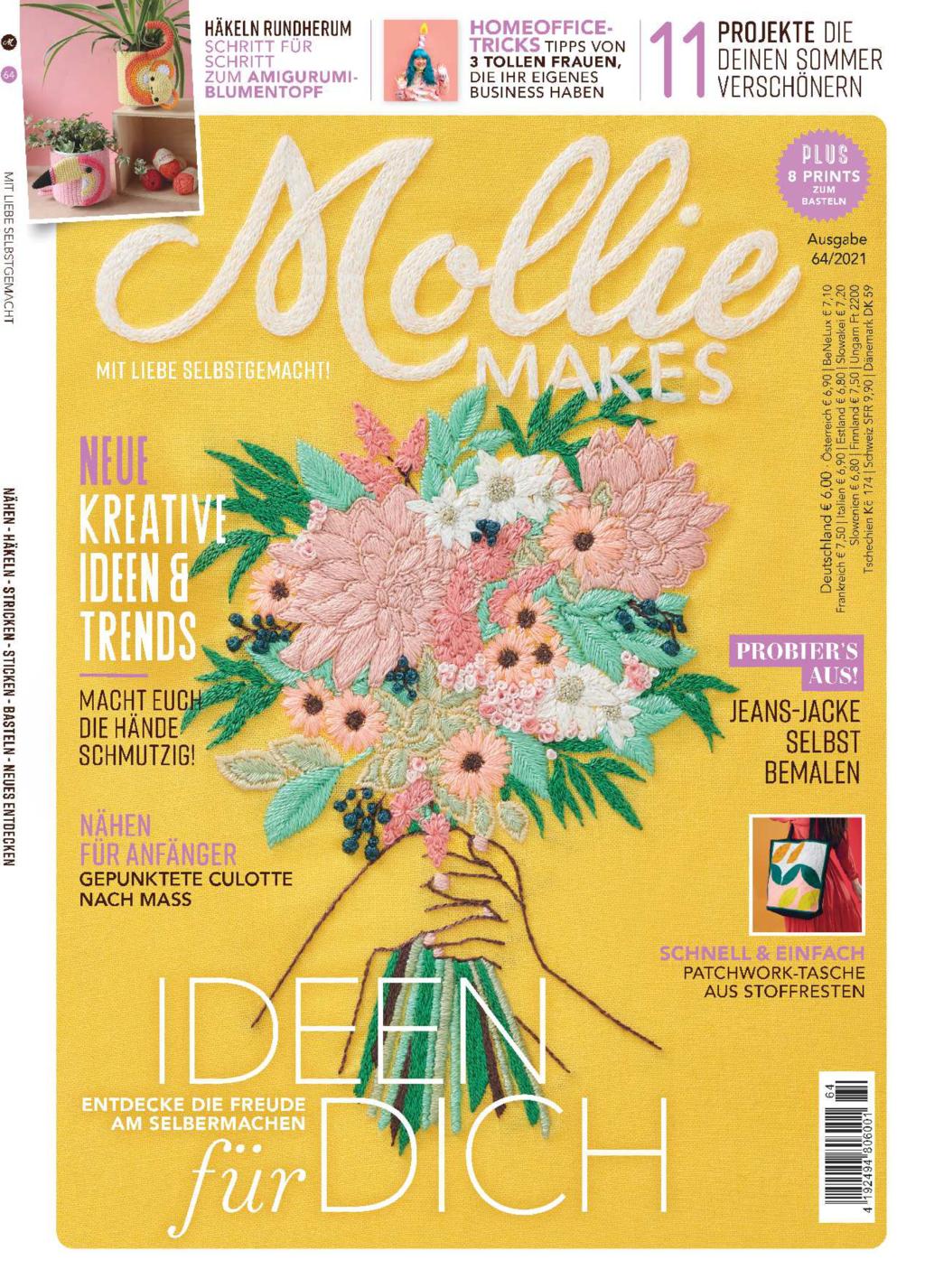 Mollie Makes Nr. 64/2021 - Ideen für dich