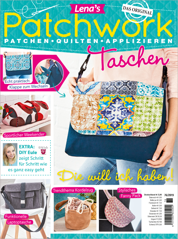 Lena´s Patchwork Nr. 76/2019 - Taschen