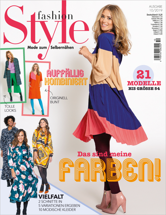 Fashion Style Nr.10/2019 - Das sind meine Farben!
