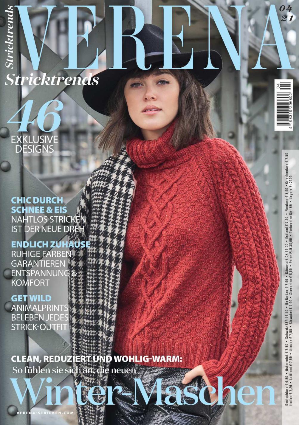 Verena Stricktrends 04/2021 - Winter-Maschen