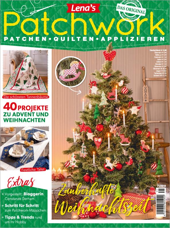 Lena´s Patchwork Nr. 71/2018 - Zauberhafte Weihnachtszeit