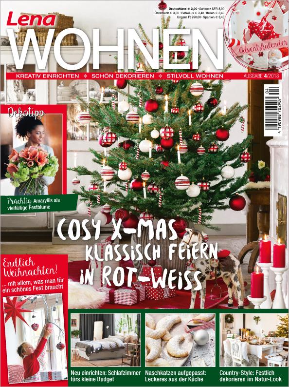 Lena Wohnen Nr. 04/2018 - Cosy X-Mas