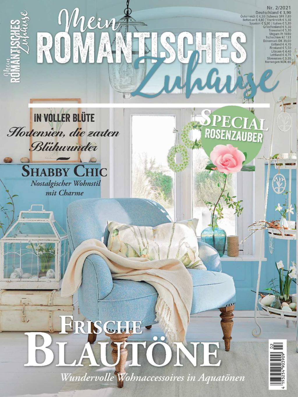 Mein romantisches Zuhause Nr. 02/2021 - Frische Blautöne