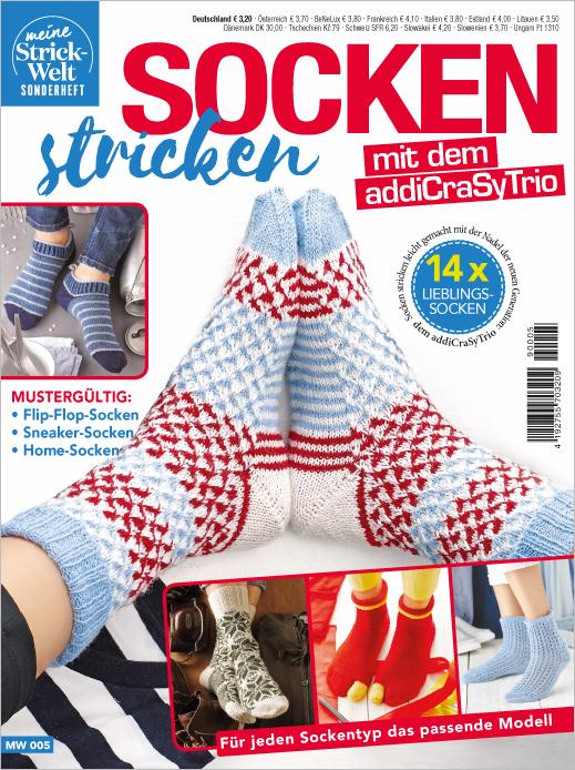 Meine Strickwelt Sonderheft - Socken stricken mit dem addiCraSyTrio