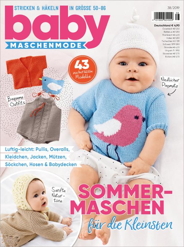 Baby Maschenmode Nr. 38/2019 - Sommermaschen für die Kleinsten