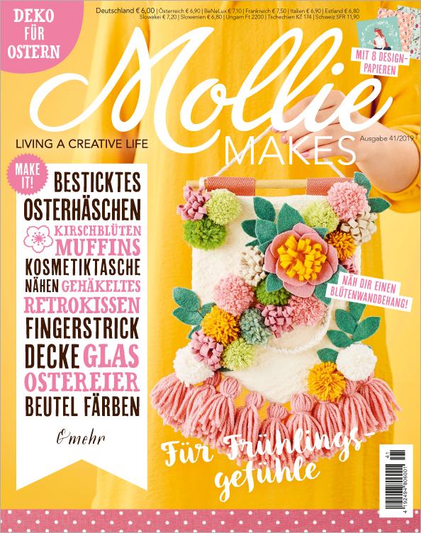 Mollie Makes Nr. 41/2019 - Für Frühlingsgefühle