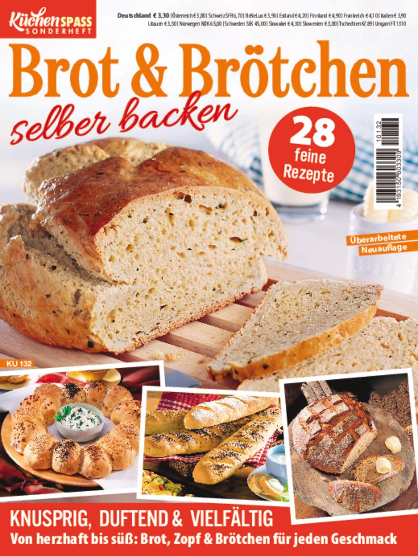 Küchenspaß Sonderheft KU 132 - Brot und Brötchen