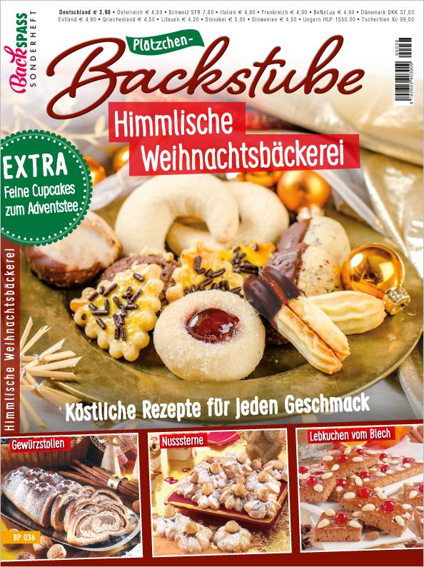 Backspaß Sonderheft - Plätzchen Backstube - Himmlische Weihnachtsbäckerei