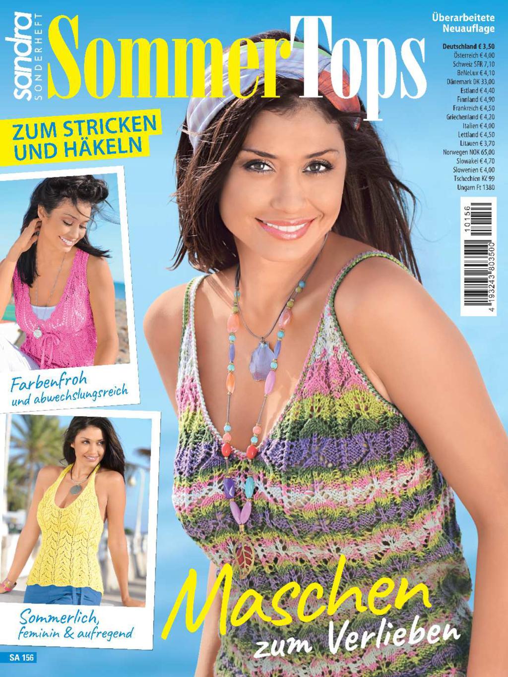 Sandra Sonderheft SA 156 - Sommertops