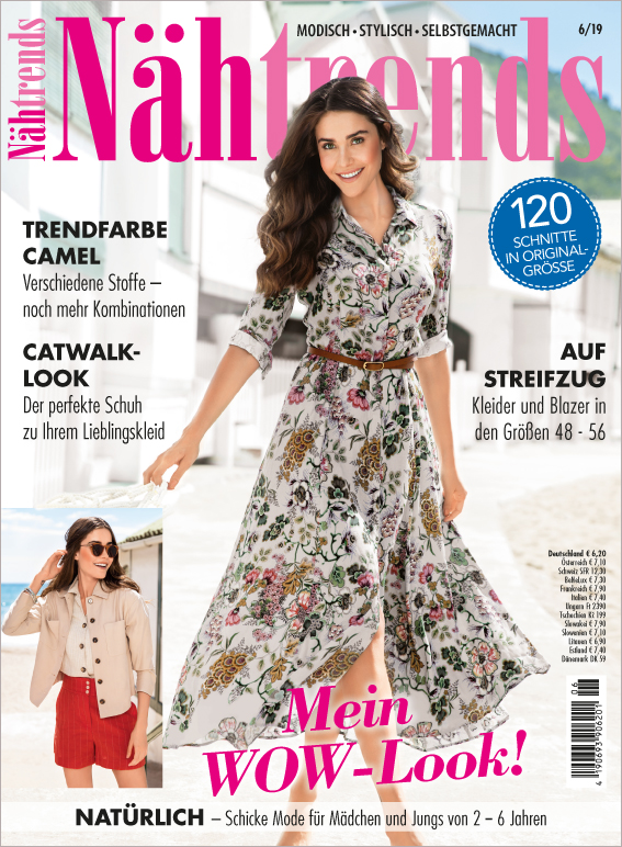 Nähtrends Nr. 06/2019 - Mein WOW-Look!