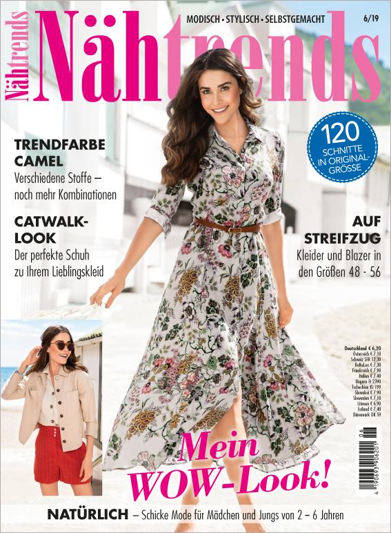 Nähtrends Nr. 06/2019 - Mein WOW-Look!