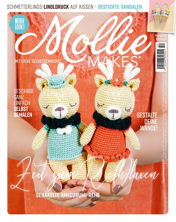 Mollie Makes  Nr. 52/2020 - Zeit zum Re(h)laxen