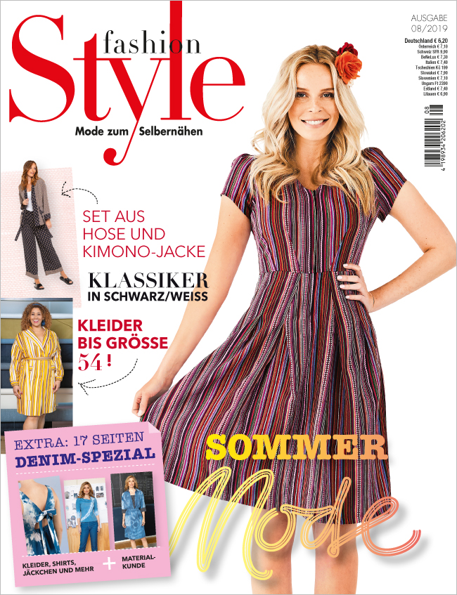 Fashion Style Nr. 08/2019 - Sommer Mode