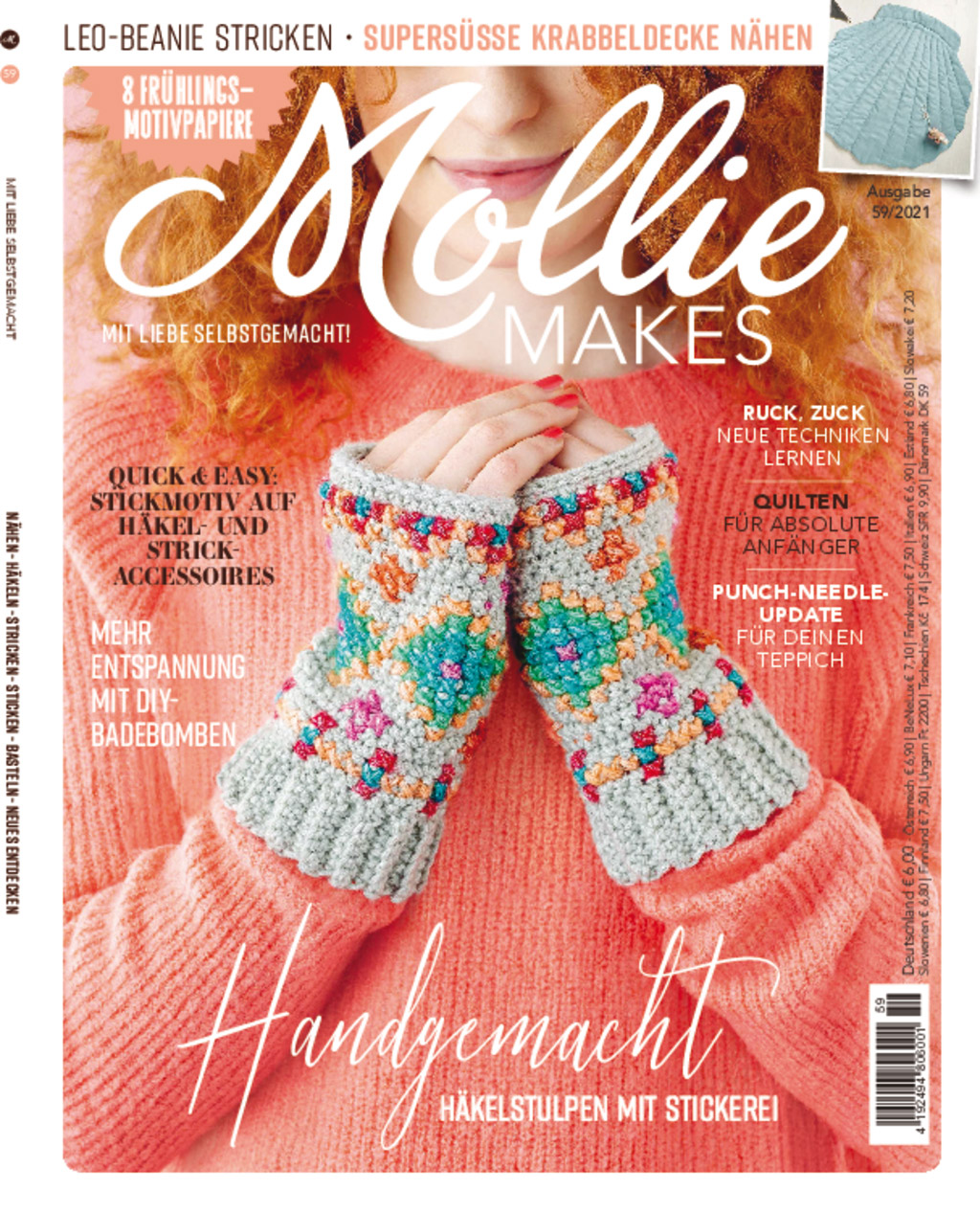 Mollie Makes Nr. 59/2021 - Handgemacht