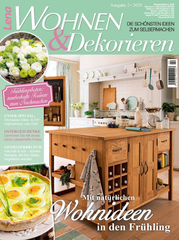 Lena Wohnen & Dekorieren Nr. 02/2020 - Mit natürlichen Wohnideen in den Frühling
