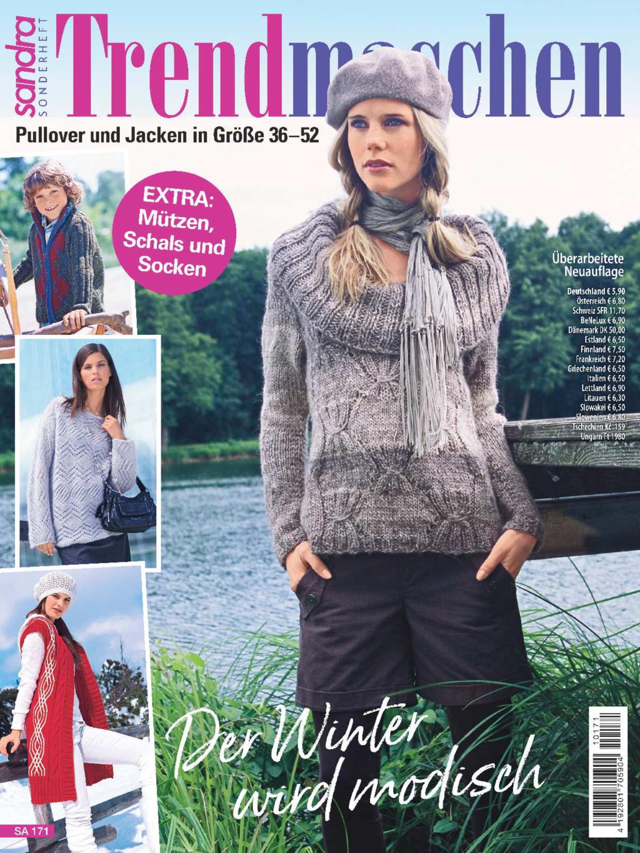 Sandra Sonderheft SA 171 - Der Winter wird modisch