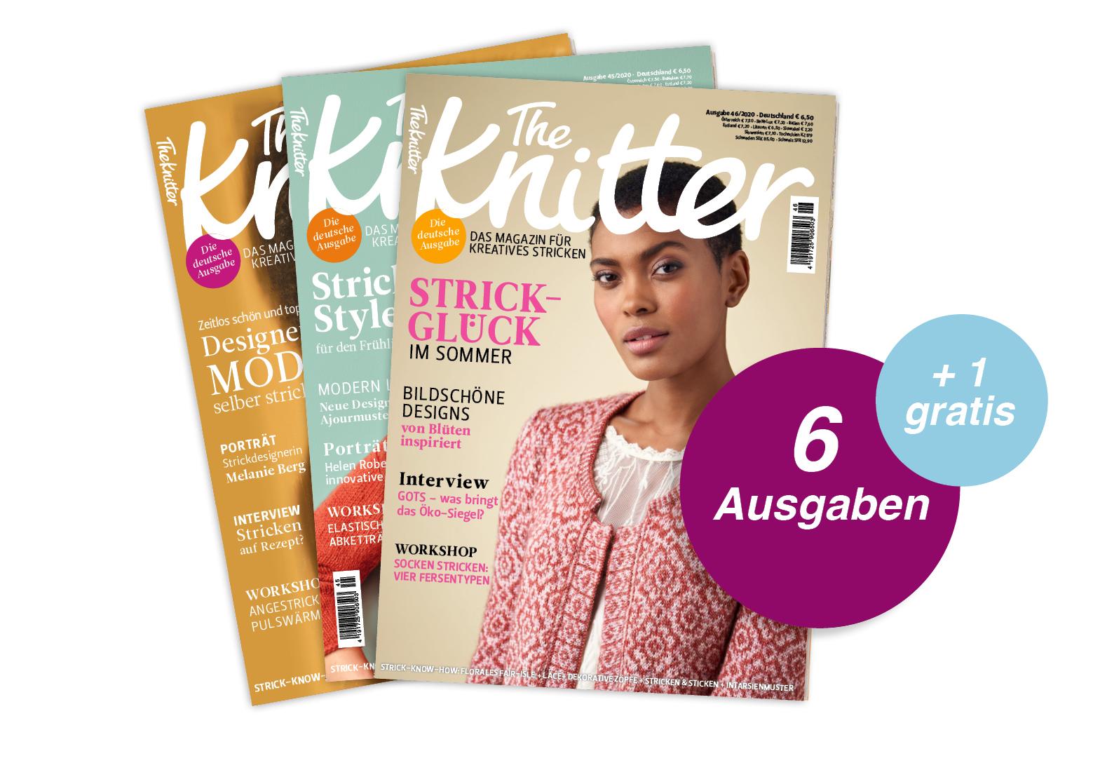 The Knitter - Jahresabo + 1 Ausgabe gratis