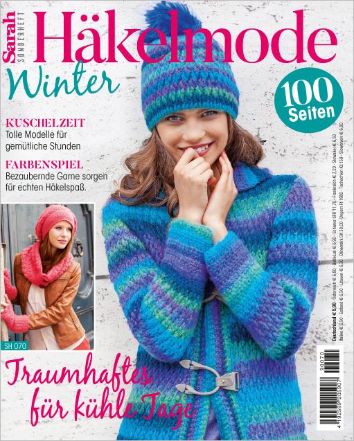 Sarah Sonderheft - Häkelmode Winter