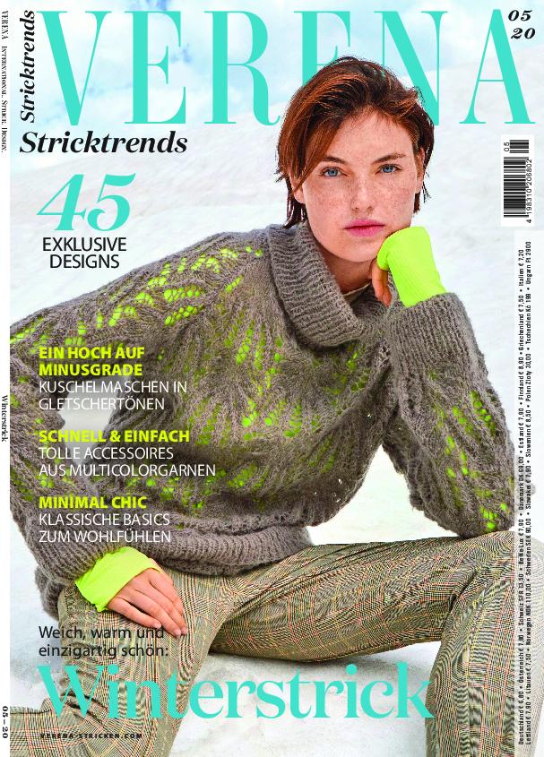 Verena Stricktrends 05/2020 - Einzigartig schön: Winterstrick!