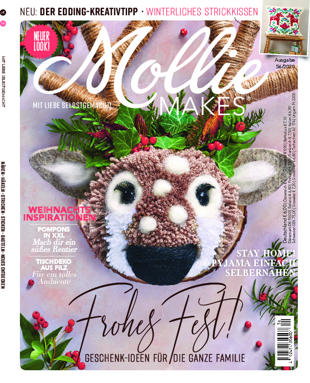Mollie Makes Nr. 56/2020 - Frohes Fest!