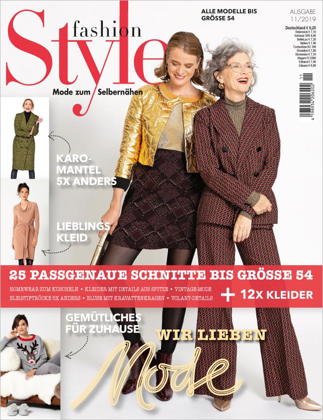 Fashion Style Nr. 11/2019  - Wir lieben Mode