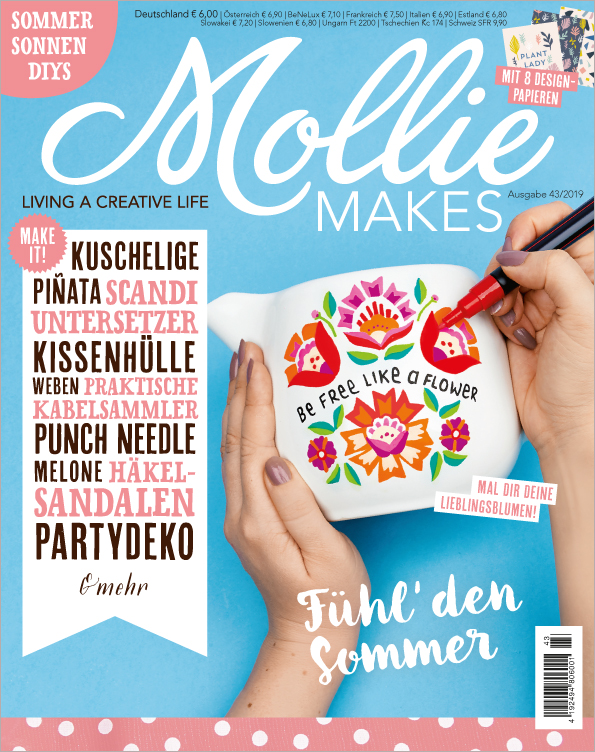 Mollie Makes Nr. 43/2019 - Fühl den Sommer