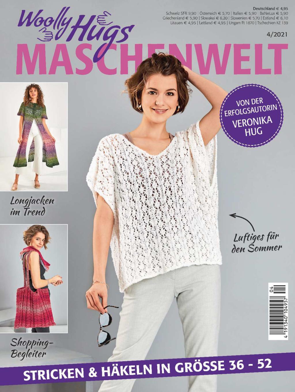 Woolly Hugs Maschenwelt Nr. 4/2021 - Stricken & Häkeln in Größe 36-52
