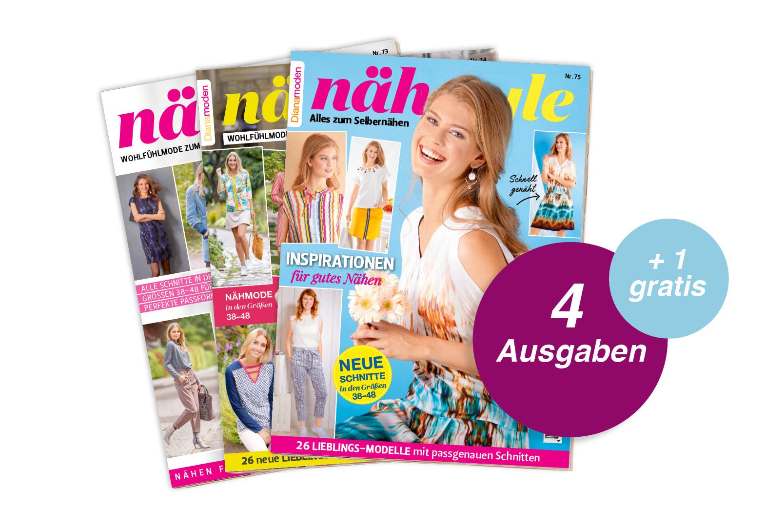 Nähstyle - Jahresabo + 1 Ausgabe gratis