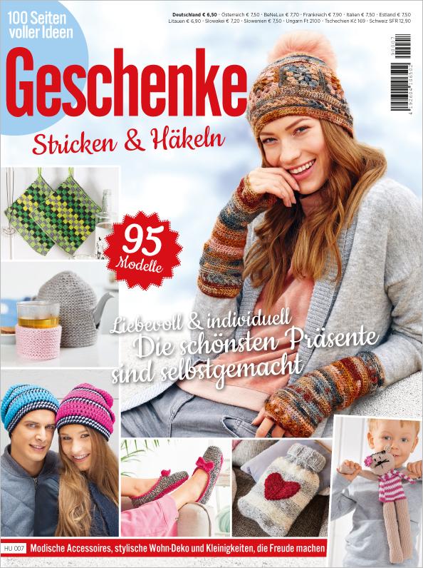 100 Seiten Geschenke - Stricken & Häkeln