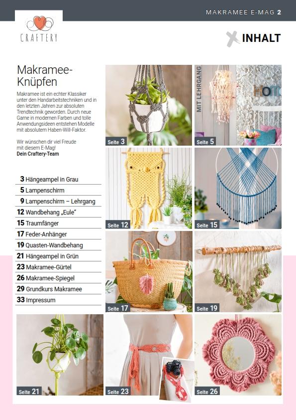 E-Magazin Nr. 01/21: Makramee – Knüpfen, Knoten, Flechten