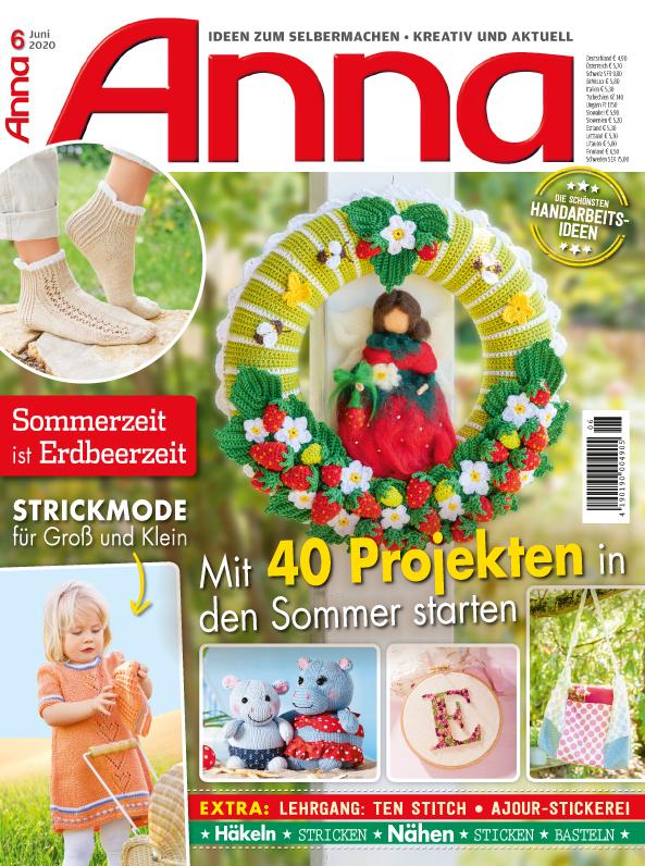Anna Nr. 06/2020 - Mit 40 Projekten in den Sommer starten