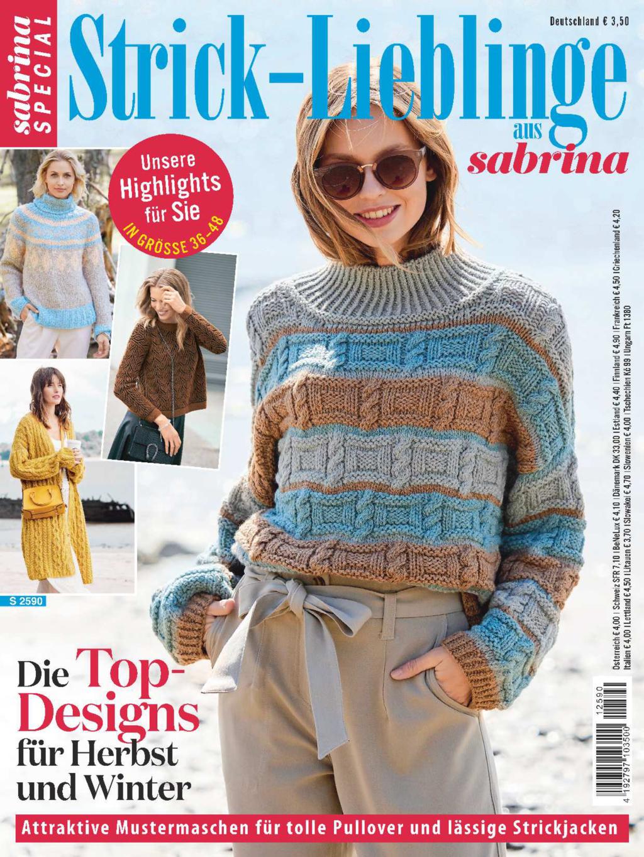 E-Paper: Sabrina Special S 2590 - Die Top-Designs für Herbst und Winter