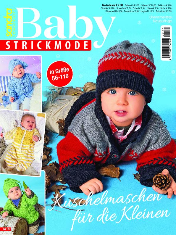 Sandra Sonderheft SA117 - Kuschelmaschen für die Kleinen