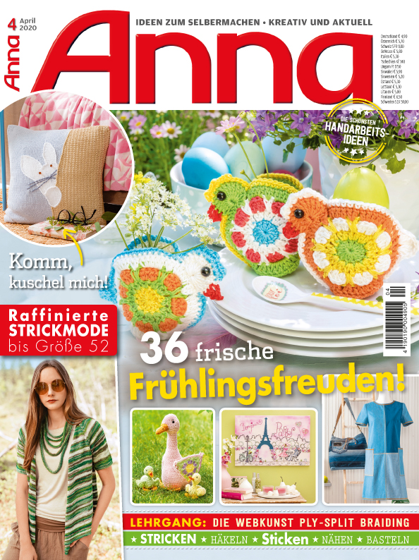 Anna Nr. 04/2020 - 36 frische Frühlingsfreuden!