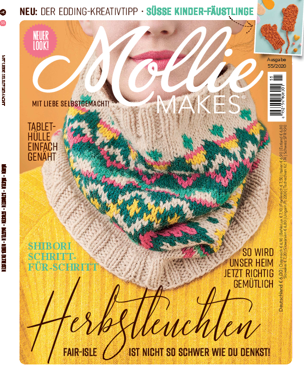 E-Paper: Mollie Makes Nr. 55/2020 - Herbstleuchten