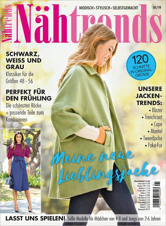 Nähtrends Nr. 01/2019 - Meine neue Lieblingsjacke