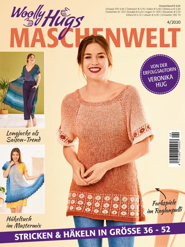 Woolly Hugs Maschenwelt Nr. 4/2020 - Farbenfroh und leicht in den Sommer