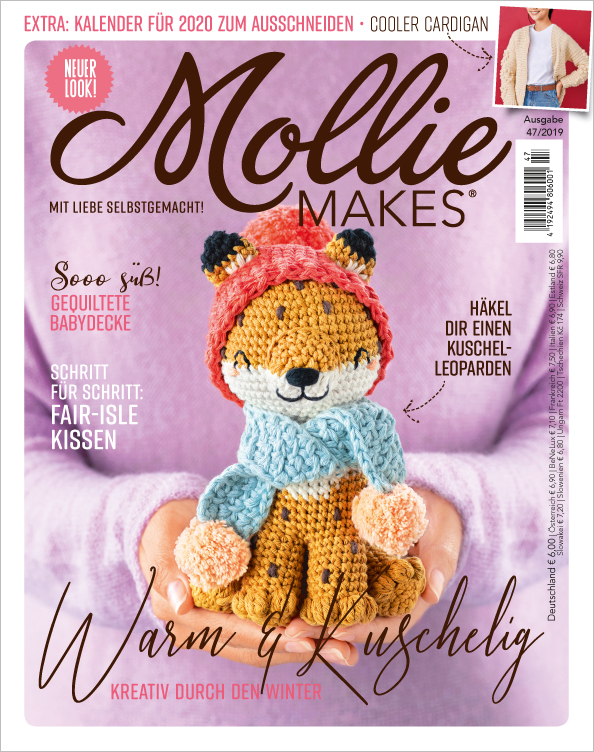 Mollie Makes Nr. 47/2019 - Warm und Kuschelig