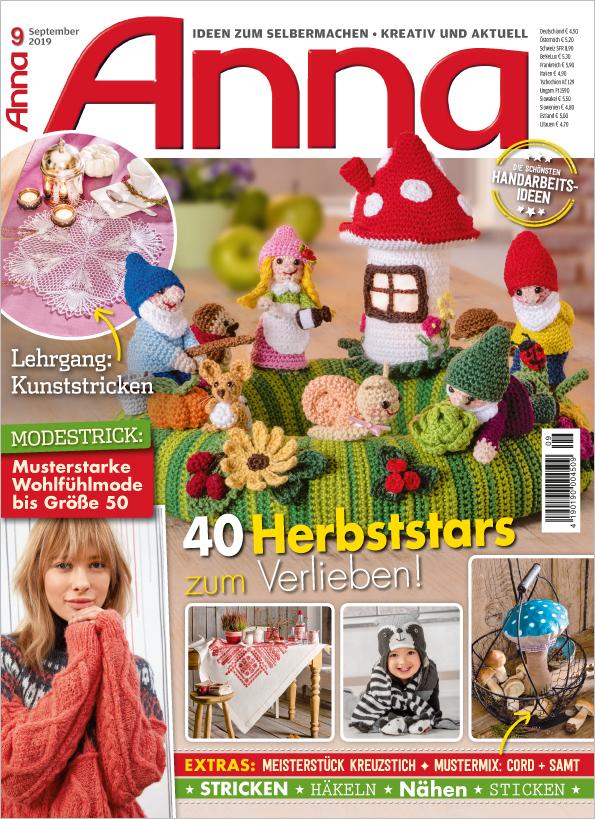 Anna Nr. 09/2019 - 40 Herbststars zum Verlieben!