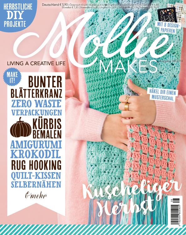 Mollie Makes Nr. 38/2018 - Kuscheliger Herbst