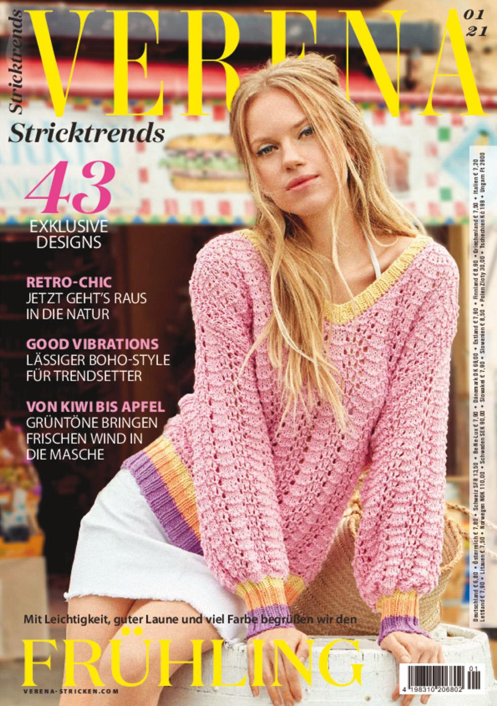 Verena Stricktrends 01/2021 - Wir begrüßen den Frühling!