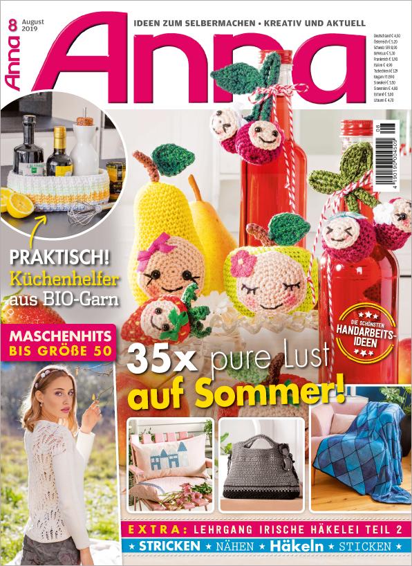 Anna Nr. 08/2019 - 35x pure Lust auf Sommer!