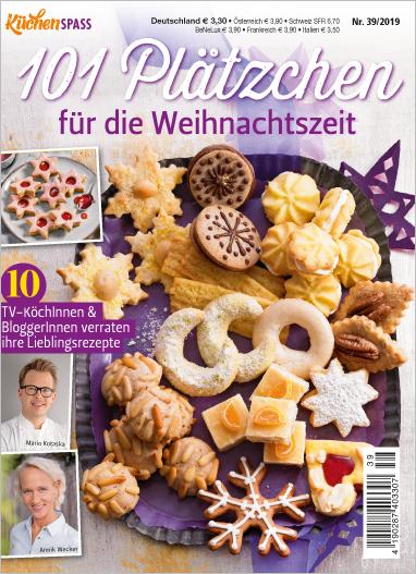 Küchenspaß 39/2019  - 101 Plätzchen für die Weihnachtszeit